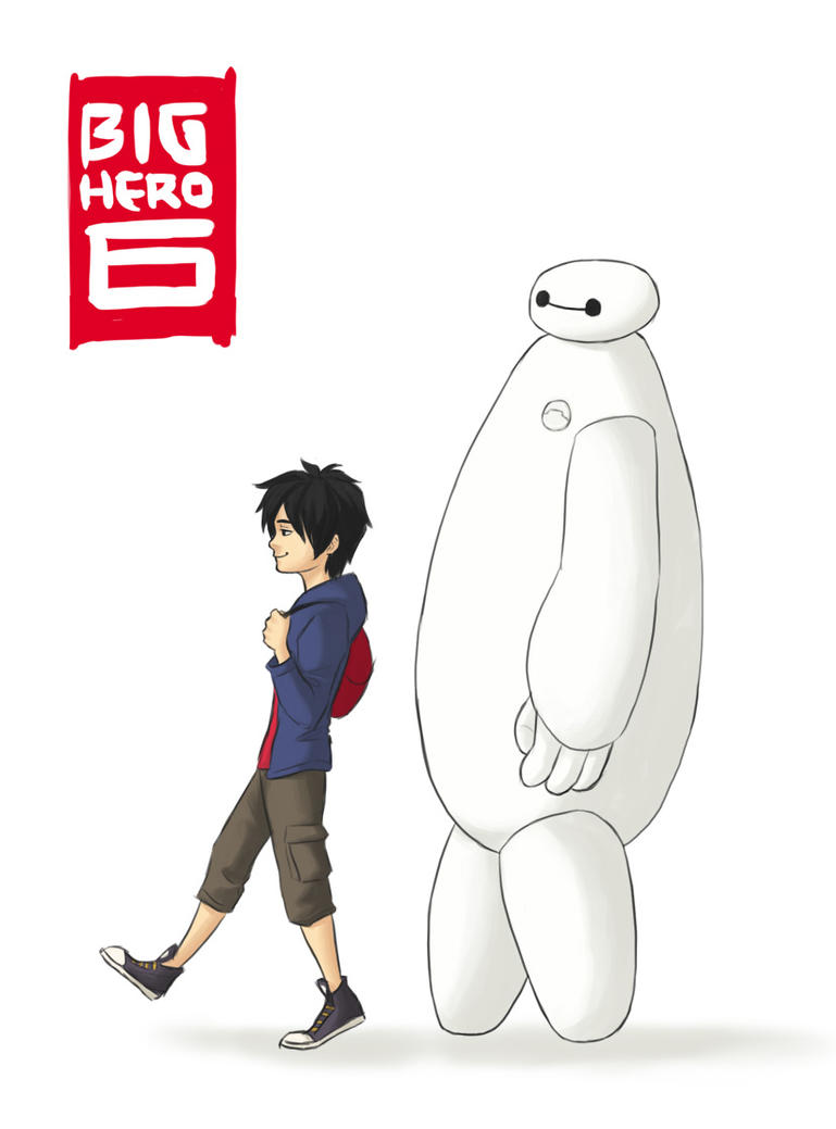 Big Hero 6! by wolfpup026