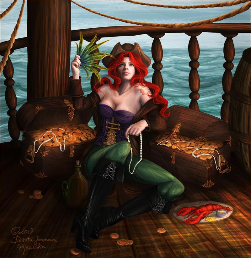 Little Mermaid Gone Bad by Trisste