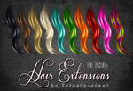 Hair extensions stock
