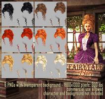 Fairytale Hair #2 by Trisste-stocks