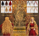 Queen Of Lions - HAIR STOCK
