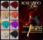 Rose Updo - HAIR STOCK