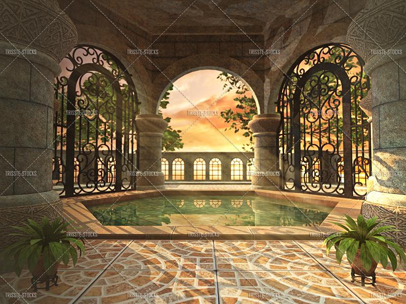 Royal Bath by Trisste-stocks