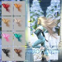 Zero Gravity Hair #1 by Trisste-stocks