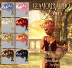 Glamour Updo HAIR STOCK