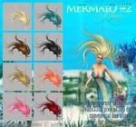 Mermaid #2 HAIR STOCK