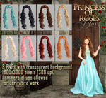 Princess of Roses HAIR STOCK