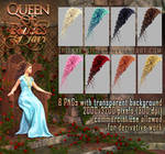 Queen Of Roses HAIR STOCK