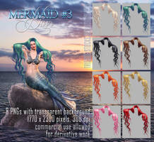 Mermaid Hair #3 HAIR STOCK by Trisste-stocks