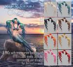 Mermaid Hair #3 HAIR STOCK