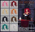 Witch #1 HAIR STOCK