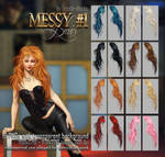 Messy HAIR #1 STOCK