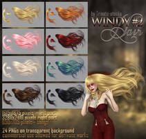 Windy #2 HAIR STOCK by Trisste-stocks