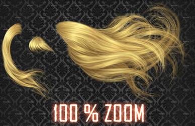 100% ZOOM - Windy #2 Hair Stock