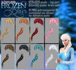 Frozen HAIR STOCK