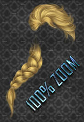 100% ZOOM - Frozen HAIR STOCK