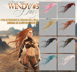 Windy #3 HAIR STOCK