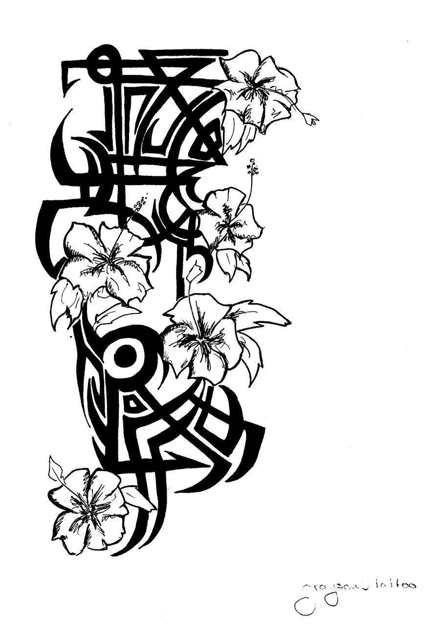 Hawaiian Tattoo by rosaYosheik96 on DeviantArt