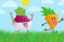 Organic Vegetables by OlamShalom