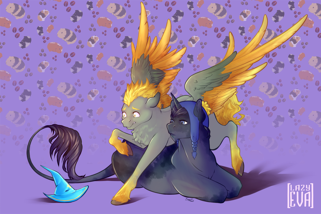 Pony Greek by LazyEva