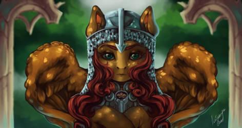 MLP OC - A warrior