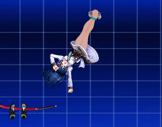 Saki Mitonoya Tickling (pantyhose) by ConanRock