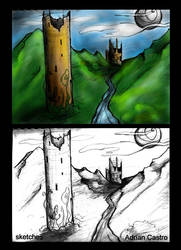 Towers Sketches
