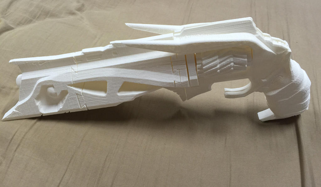 3d Printed Thorn from Destiny by Tim--the-Enchanter