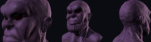Thanos mudbox sculpt by hoppopngo