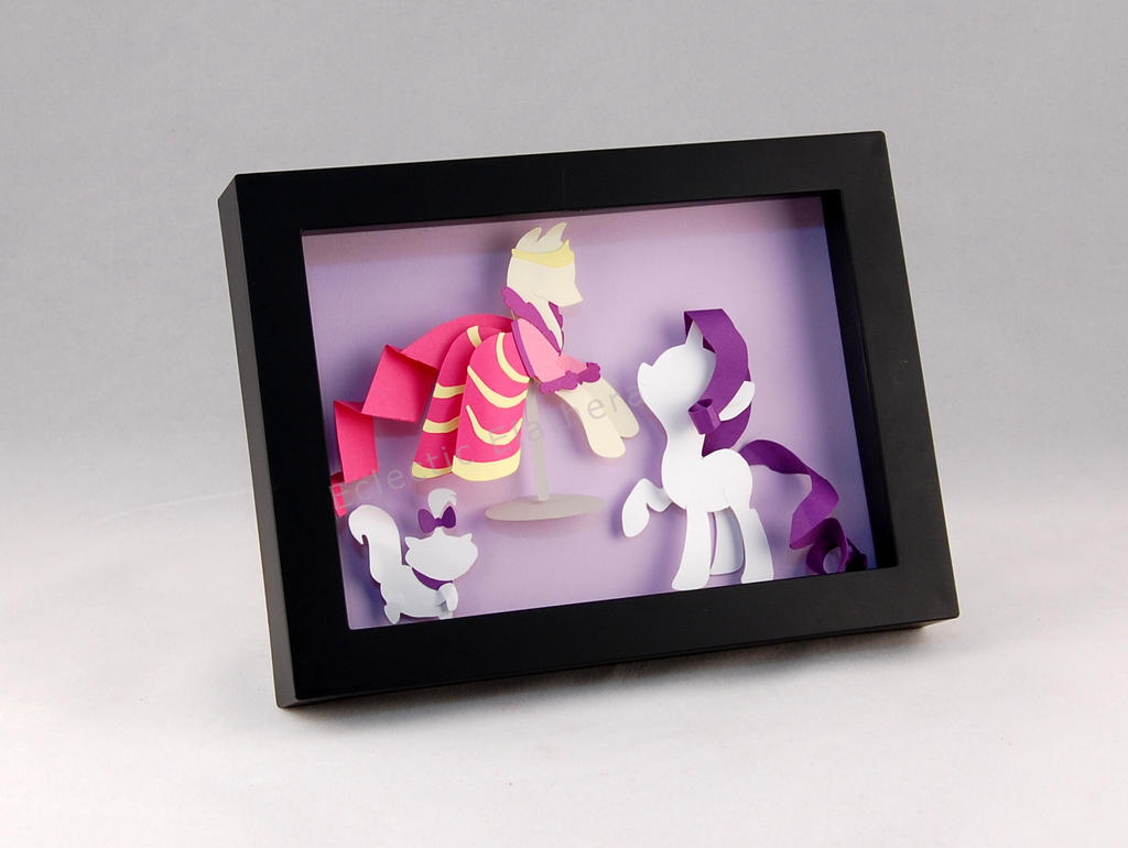 mlp_rarity_shadow_box_paper_art_by_elathera-d7uc0ac.jpg (1024×770)