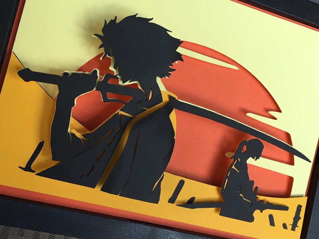 Samurai Champloo Paper Art by elathera