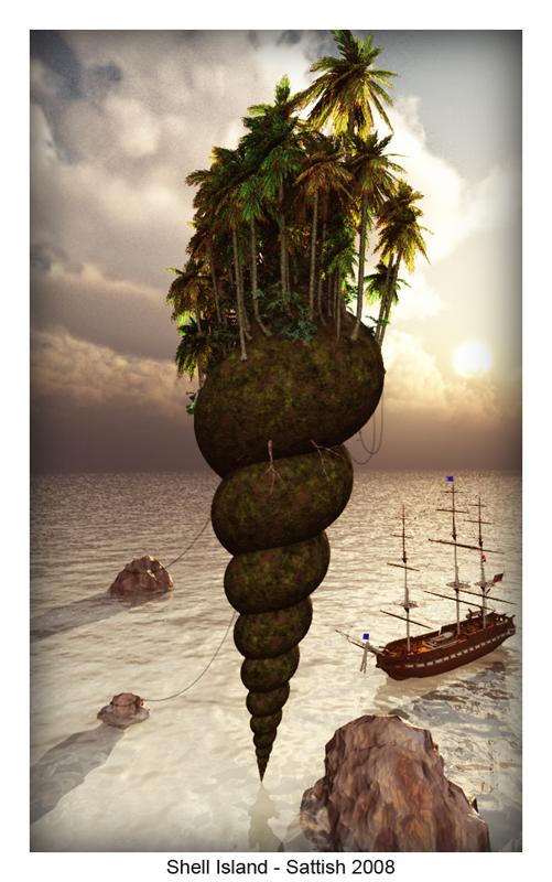 Shell Island by SATTISH