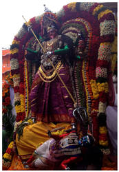 Dussera Kali by SATTISH
