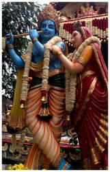 krishna by SATTISH