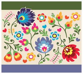 Fern Flowers by SATTISH