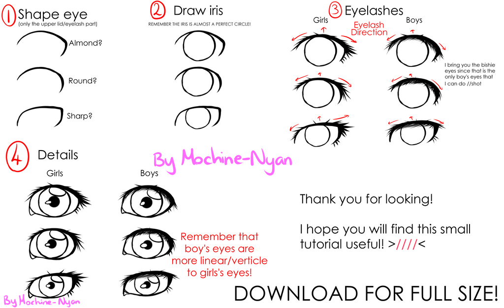 how to make eyes almond shaped