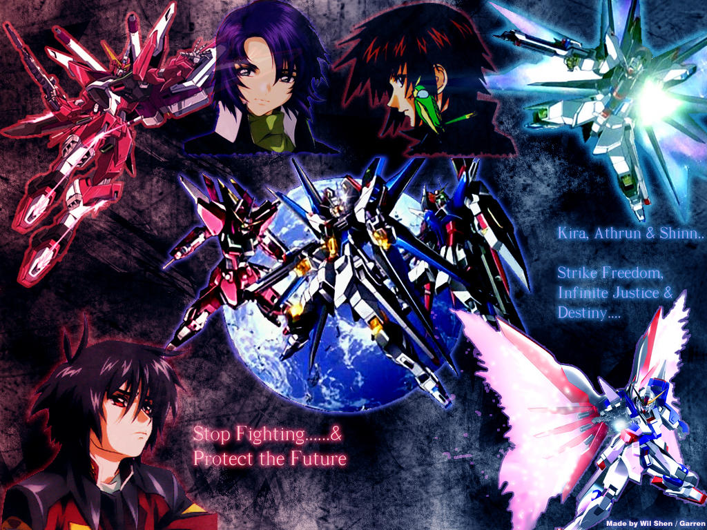 Gundam Seed Destiny Wallpaper By Garr3n On Deviantart