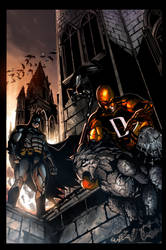 The Bat, The Spider and The Devil Colored by Ace-Continuado