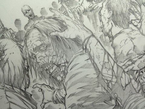 Walking Dead WIP by Ace-Continuado