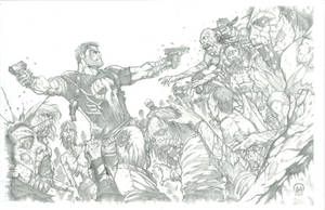 Frank Castle: Walking Dead 2 by Ace-Continuado