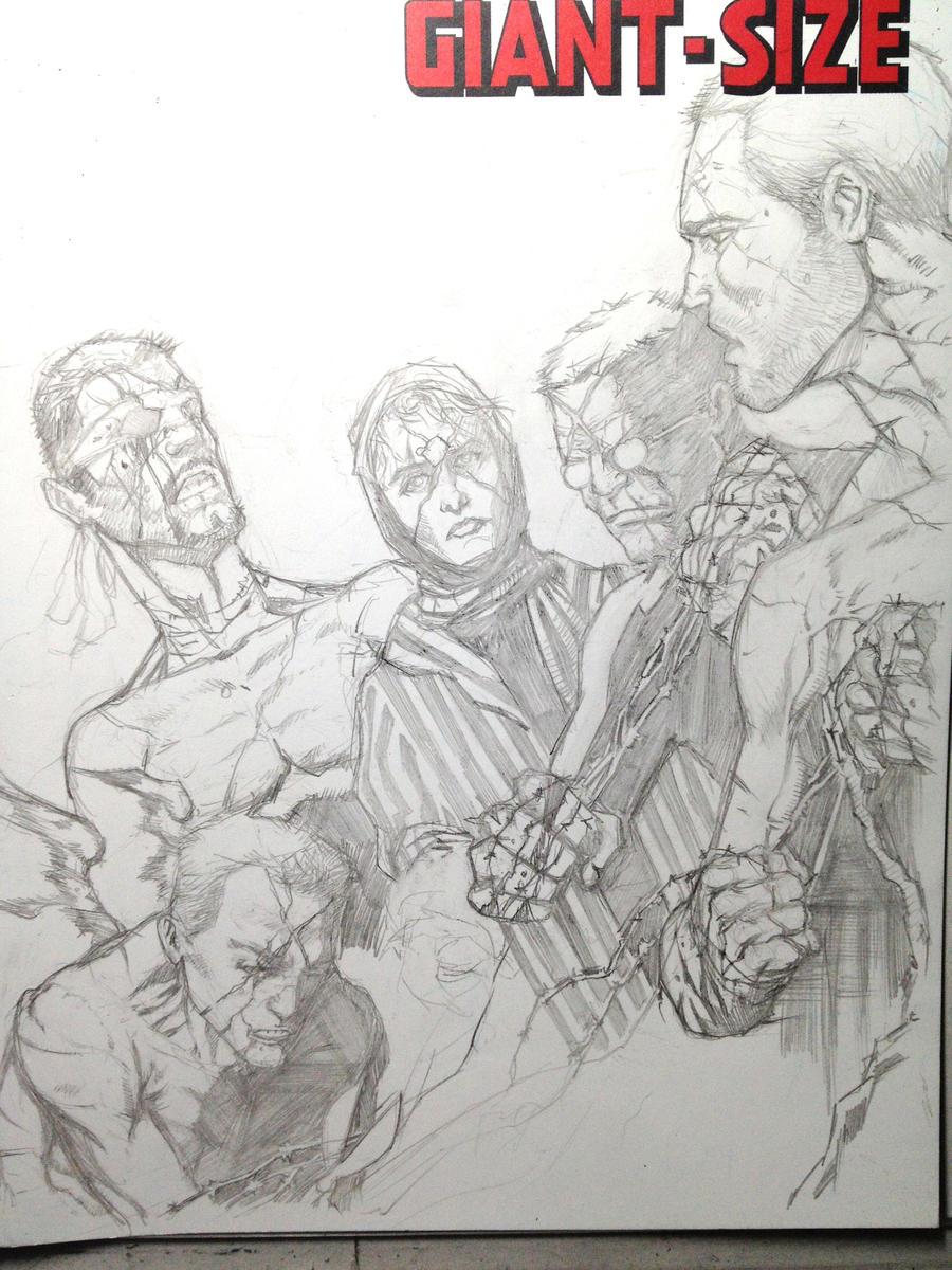X-Men WIP by Ace-Continuado
