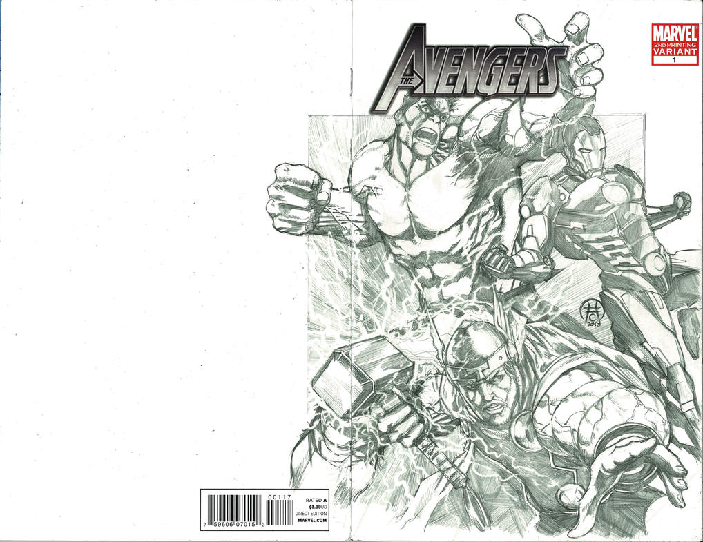 Avengers Sketch Cover By Ace-Continuado On DeviantART