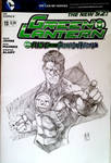 Green Lantern Sketch cover