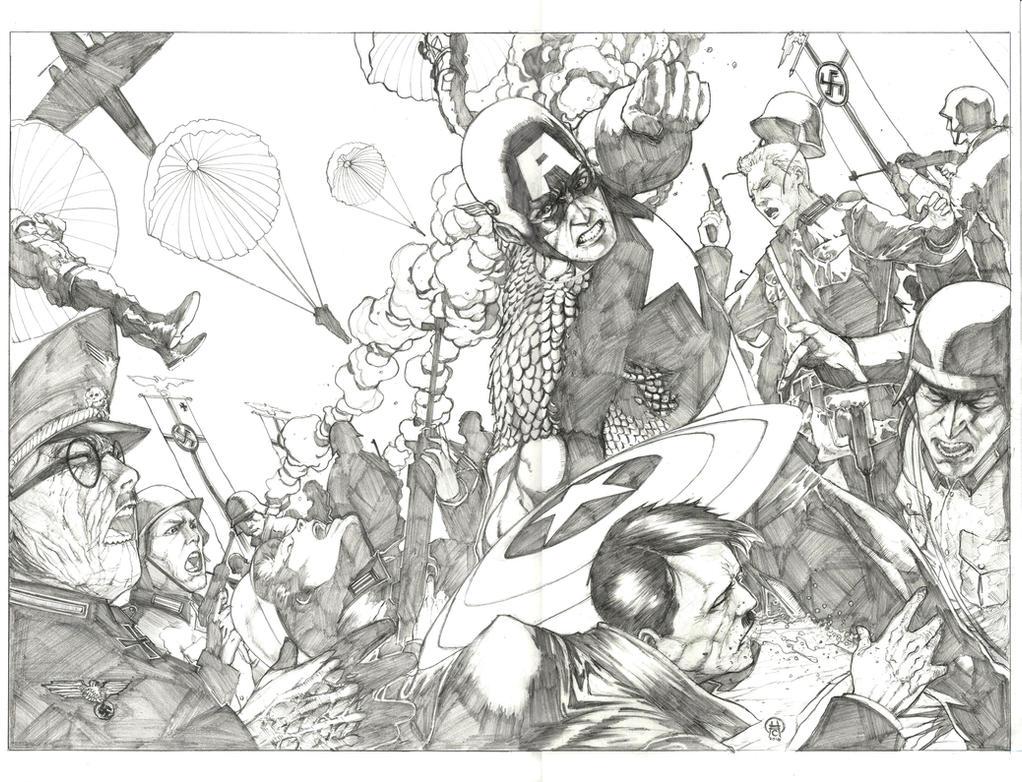 Captain America: Blitzkrieg by Ace-Continuado