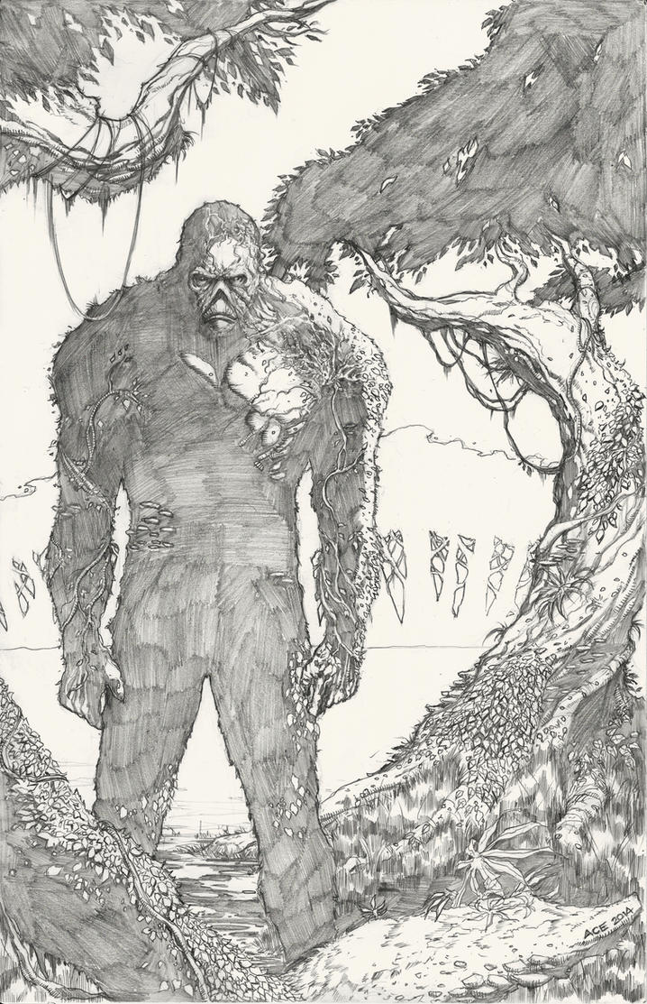 Swamp Thing by Ace-Continuado