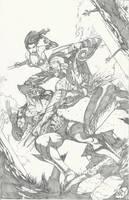 SMASHCON exclusive: Wolverine by Ace-Continuado
