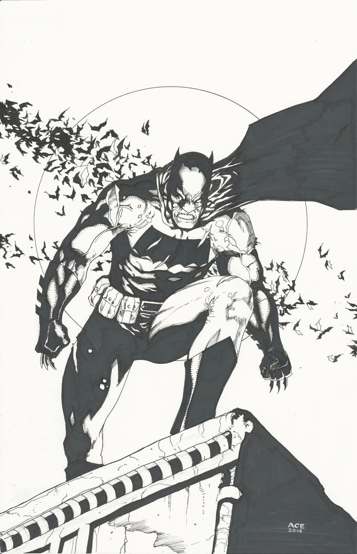 Dark Knight Returns NYCC Commission by Ace-Continuado