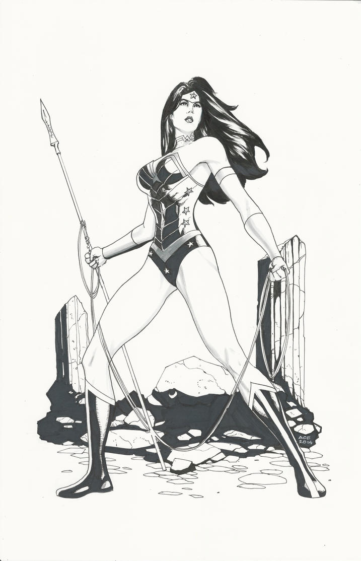 Wonder Woman by Ace-Continuado