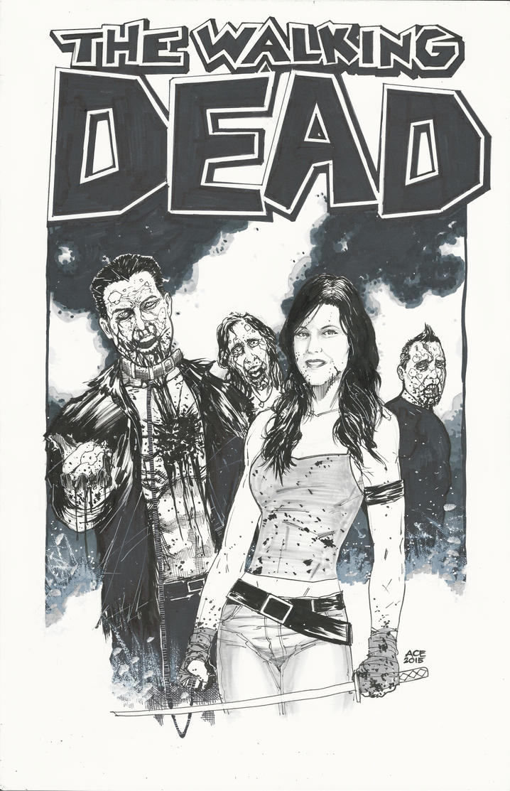 Walking Dead Wedding by Ace-Continuado