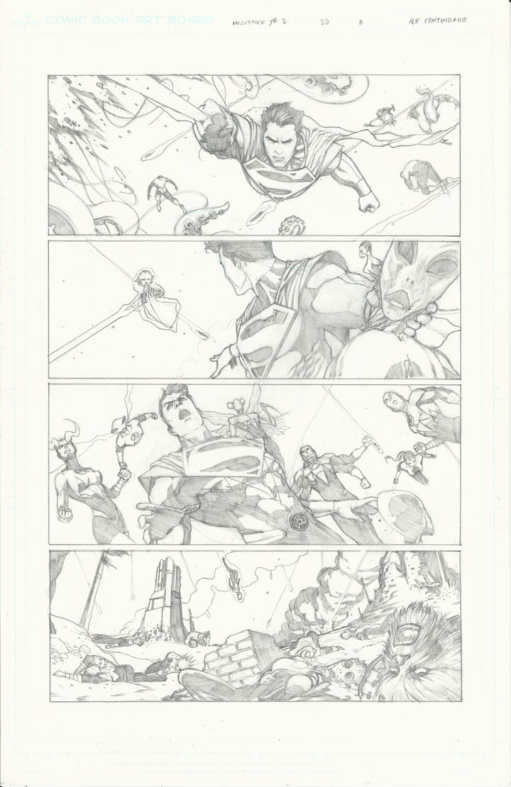 Injustice Sample pg 2 by Ace-Continuado